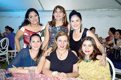 Abilene Méndez, Mary Carmen González, Eva Torres, Adriana Sánchez, Karla Olmos, Fany Rosales.