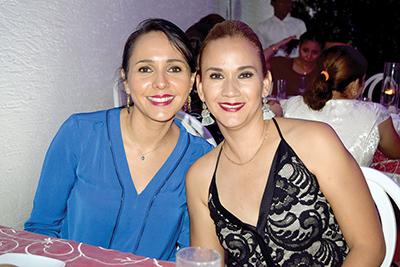 Rosa Elen Antón, Jenny Domínguez.