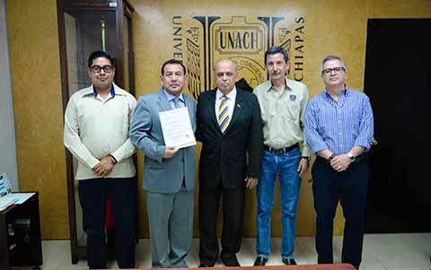Nombran a Beimar Palacios Arreola, Secretario General de la UNACH