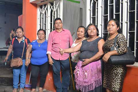 Continúa Conflicto entre Locatarios y Ex Directivos del Tianguis Tapachula