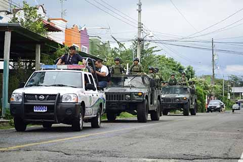 BOM Participa en el Combate al Transporte Irregular del Soconusco