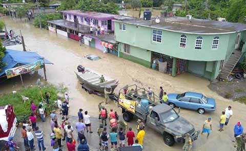 Sedena Ejecuta Plan DN-III por Desbordamientos en Veracruz