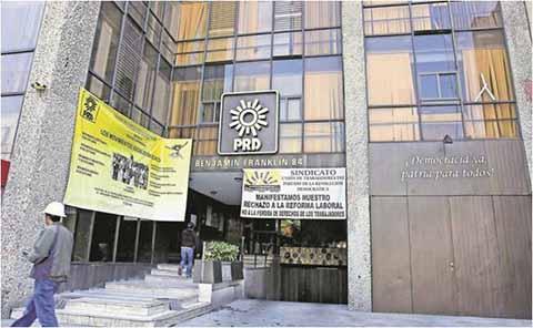 PRD Prepara Liquidación de 200 Empleados de Base por 35 mdp