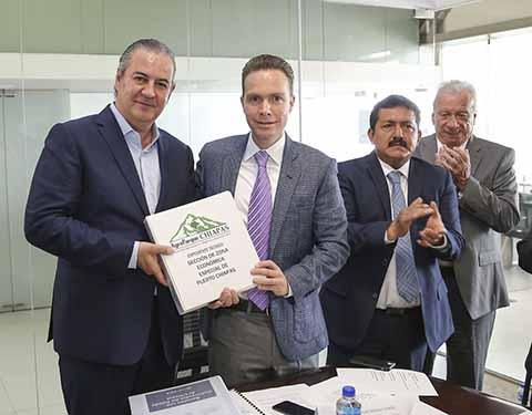 Parque Agroindustrial Detonará el Desarrollo Económico de Chiapas: MVC
