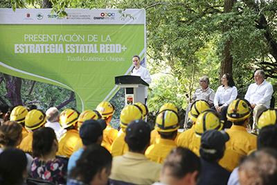 Encabeza MVC Presentación de Estrategia Para preservar las Áreas Naturales de Chiapas