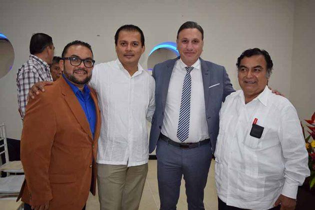 Manuel Márquez Jr., Samuel Chacón, Nicolás González Perrin, Manuel Márquez.