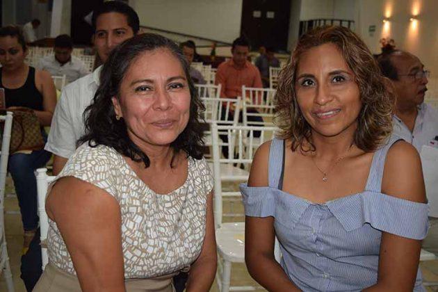 Conchy Hernández, Carolina Farrera.
