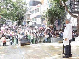 En Gira de Agradecimiento por la Entidad, Ofrece AMLO Invertir 32 Mmdp Para Chiapas