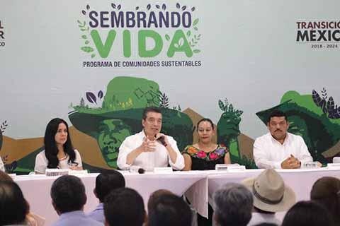 Sembrando Vida un Proyecto que Dará 80 mil Empleos a Chiapas