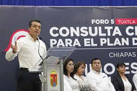 Concluye Consulta Ciudadana Para el Plan Gubernamental de Rutilio Escandón