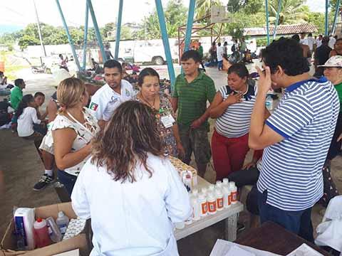 Secretaría de Salud Garantiza Atención Médica en Recorrido de Caravana Migrante