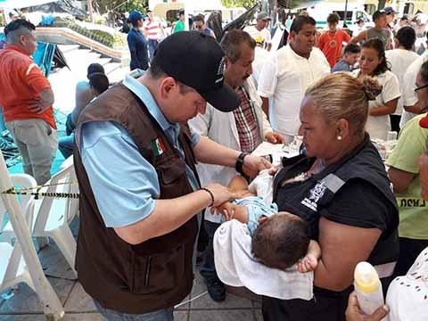 Secretaría de Salud Refuerza Atención a Migrantes en Tapachula y Pijijiapan