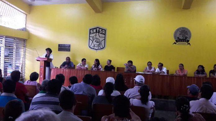 Eligen Nueva Secretaria General del Sindicato del Ayuntamiento de Huixtla