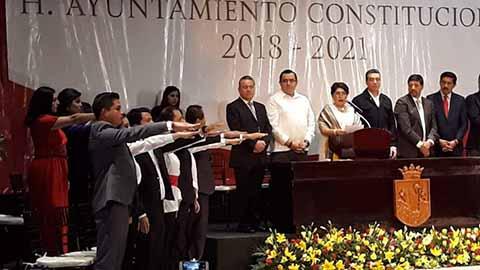 Sin Contratiempos Inició Relevo en Ayuntamientos de Chiapas