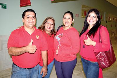 Esuen Barrios, Alejandra Martínez, Harymy Altamirano, Itayetzi Argueta.
