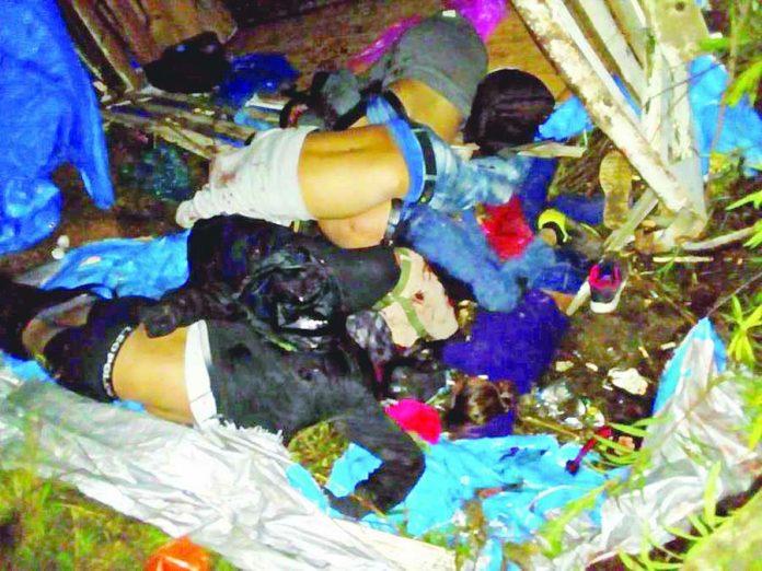 Seis Centroamericanos Muertos y 45 Heridos en Volcadura