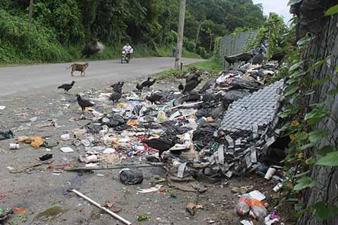 Se Desborda la Contaminación en el Basurero de Tuzantán