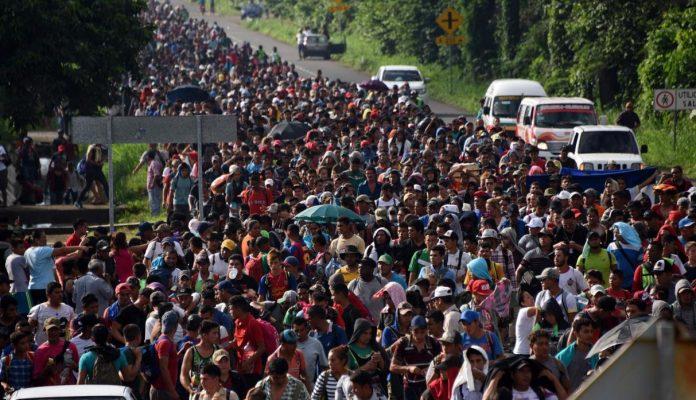 Imparable la Migración Masiva de Centroamericanos