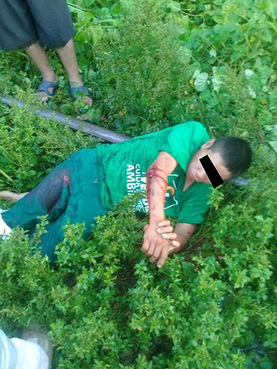Guatemalteco se Lesiona al Caer del Tren