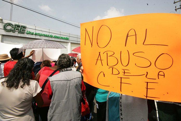 Protesta México por Aumento de Tarifas Eléctricas en Hasta un 400 por Ciento
