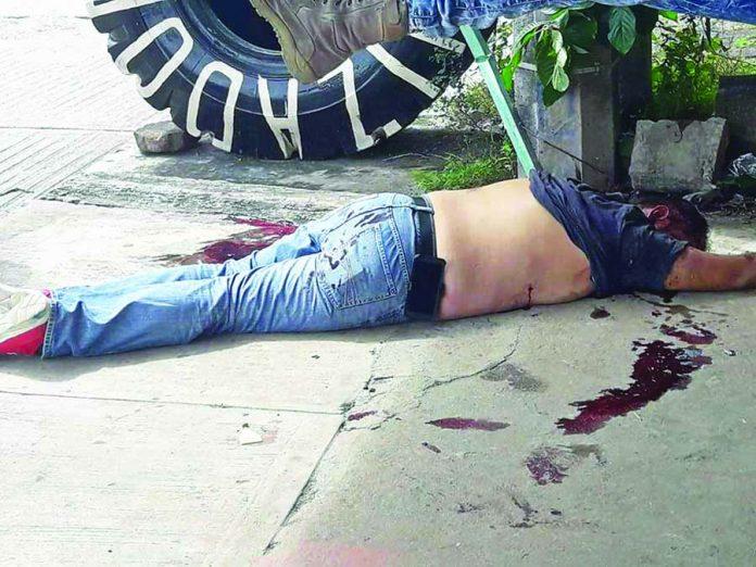 Matan de Cuatro Balazos a Barrio 18