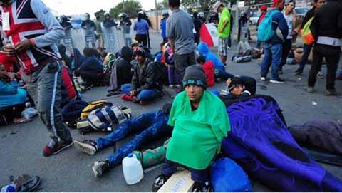 Migrantes Advierten Declararse en Huelga de Hambre Para Presionar a EU