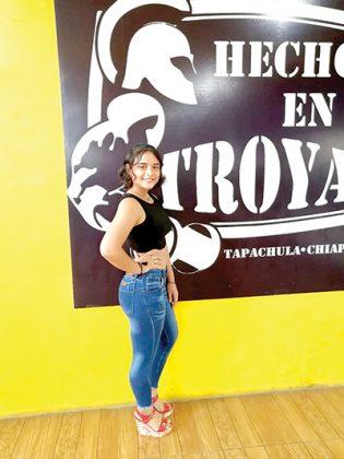 Yesi Torres, 16 años.
