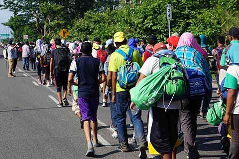 Proponen Militarizar de la Frontera Para Cerrar el Paso de la Migración a México