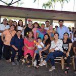 El profesional staff de la institución encabezado por Aremy Espinosa.