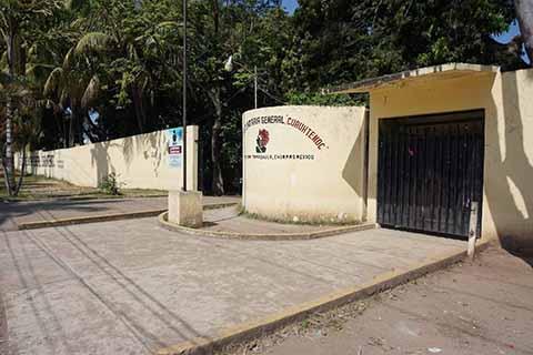 Aguas Negras Contaminan la Escuela Secundaria Cuauhtémoc
