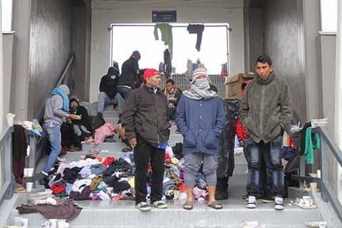 INM Deportará a 39 Migrantes que Rompieron Cerco Fronterizo con EU