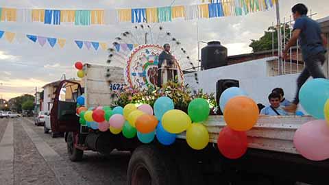 Festejaron a San Martín de Porres en la Col. Benito Juárez
