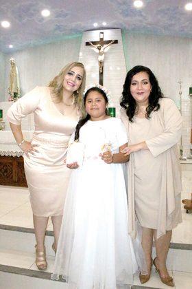 Hayat Rabban, Fernanda García, Irene Acosta.