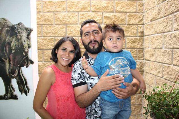 Nora Sumuano, Daniel, Daniel Gordillo.