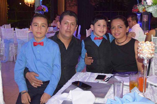 Familia Marroquín Morales.