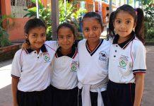 Belén Sánchez, Cinthia Espinoza, Michelle Medina, Diana Estrada.
