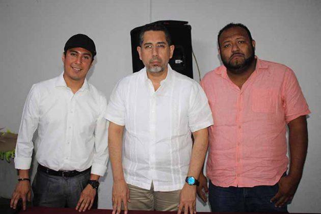 Guillermo López, Humberto Brizuela, Manuel Matus.