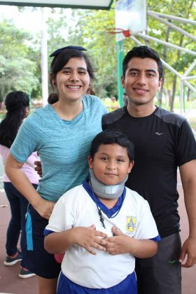 Kimberly Amaro, Tadeo Manzo, Roberto Juárez.