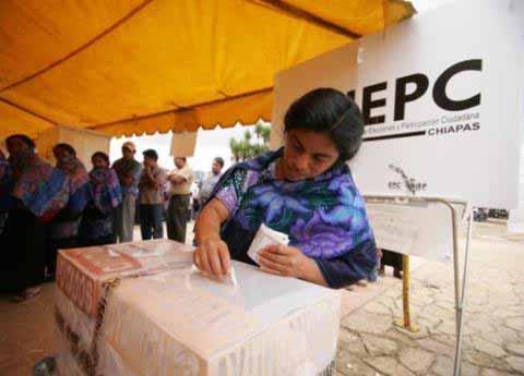 Garantizada la Seguridad por Elecciones Extraordinarias en 10 Municipios de Chiapas