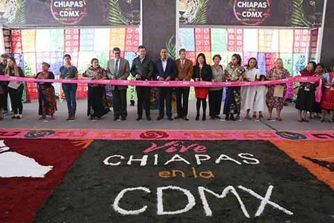Inauguran Expo Chiapas Jaguar 2018 en la CDMX
