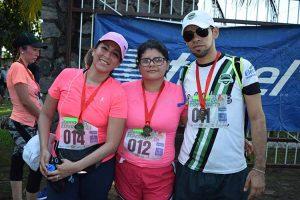Adelina Cosme, Paola Flores, Oscar Figueroa.