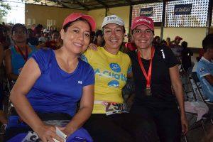 Celene Sánchez, Adriana Núñez, Marycarmen González.