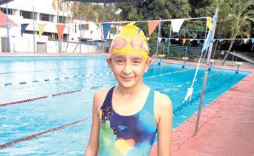 Nadadora Lyvia Rodríguez Aspira Participar en Nacional de Natación