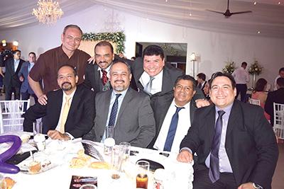 Alberto Rueda, Mario García, José Luis Guerrero, Eduardo Medina, Francisco Zamora, Francisco Velázquez, Arnulfo Castellanos.