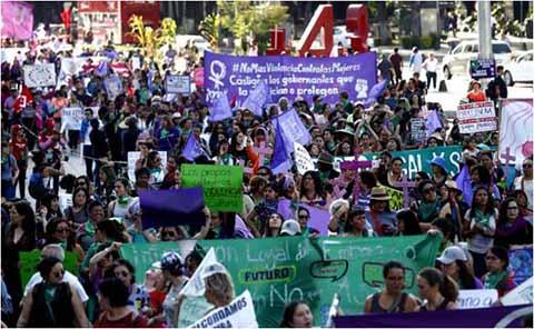 Conmemoran Día Contra la Violencia Hacia las Mujeres