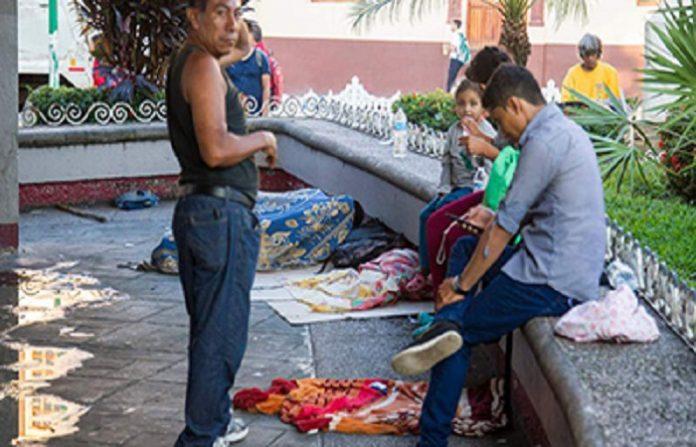 Deambulan en la Región Varios Migrantes que Probablemente van a Delinquir: PROCENTRO