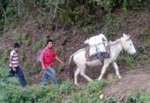 Campesinos Exigen a la SCT Rehabilitación de Caminos