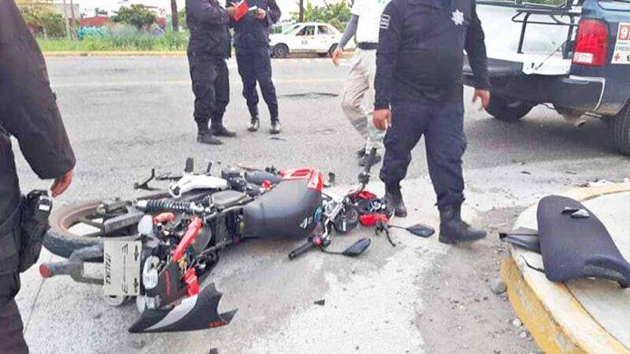 Motociclistas Resultaron Heridos de Gravedad