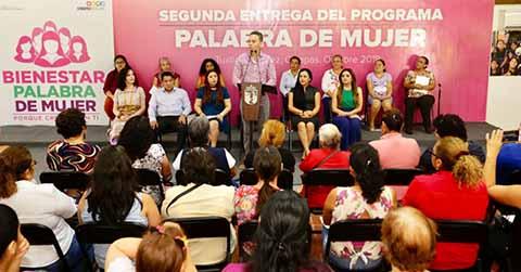 Chiapas de los Estados con más Programas Dirigidos a Mujeres: MVC