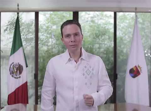 El Gobernador Manuel Velasco detalló que la participación de la gente en las decisiones de Gobierno hace más fuerte a nuestro país, con motivo de la consulta sobre el Tren Maya programada para los días 24 y 25 de Noviembre.